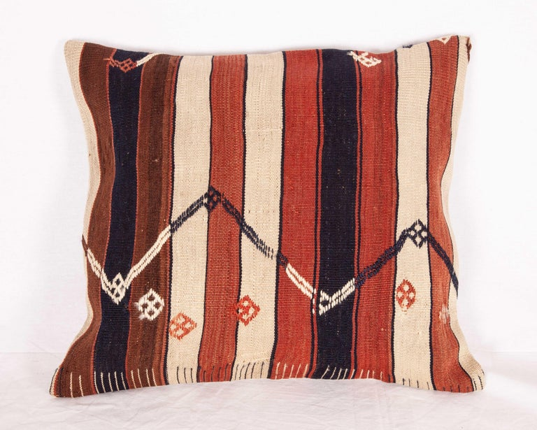 Hand-Woven Kilim Pillow Cases Fashioned from an Eastern Anatolian Kilim, Early 20th Century For Sale