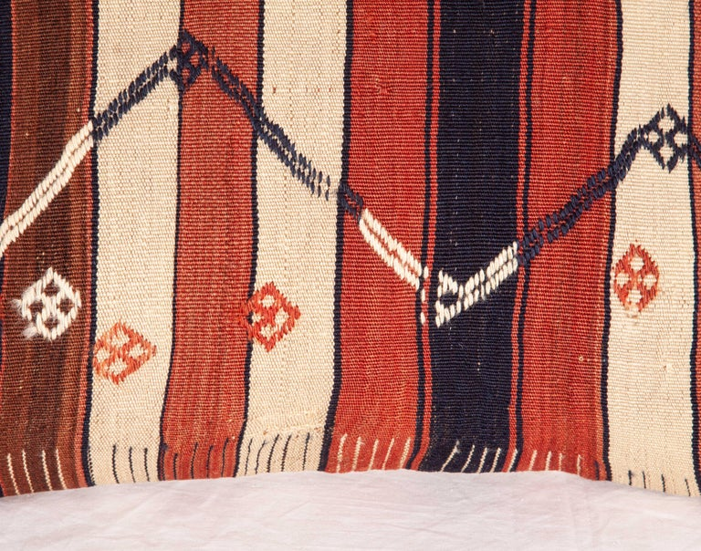 Kilim Pillow Cases Fashioned from an Eastern Anatolian Kilim, Early 20th Century In Good Condition For Sale In Istanbul, TR