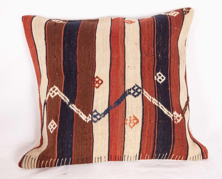 Wool Kilim Pillow Cases Fashioned from an Eastern Anatolian Kilim, Early 20th Century For Sale