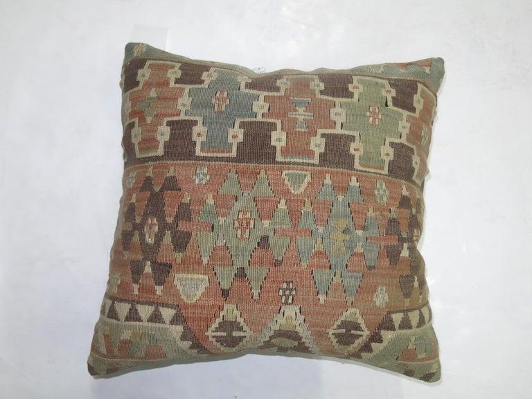 Sumak Kilim Pillow For Sale