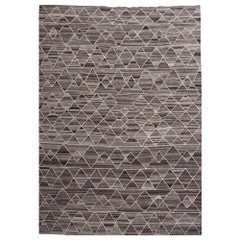 17 x 12 ft Rug Contemporary Modern 21St Century Neutrals Oversize Gray Brown