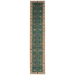 Kilim Rug Runner Geometrical Handmade Carpet Runner Oriental Rug Stair Runner