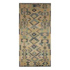 Kilim Runner Qashqai Design Geometrical Carpet Runner Oriental Stair Runner Rugs