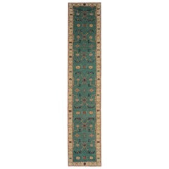 Kilim Runners Rugs, Handmade Area Rugs, Floral Stair Runner Sumakh from Kazak