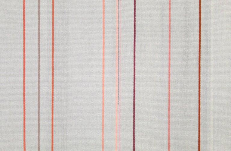 Kelim Wandteppich oder Teppich, handgefertigt, Brooklyn, NY, USA 2