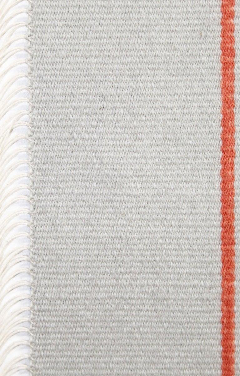 Kelim Wandteppich oder Teppich, handgefertigt, Brooklyn, NY, USA 4