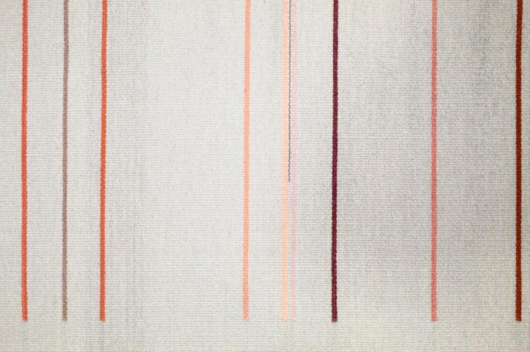 Kelim Wandteppich oder Teppich, handgefertigt, Brooklyn, NY, USA 5