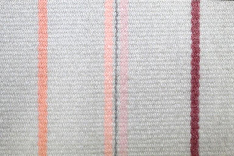 Kelim Wandteppich oder Teppich, handgefertigt, Brooklyn, NY, USA 6