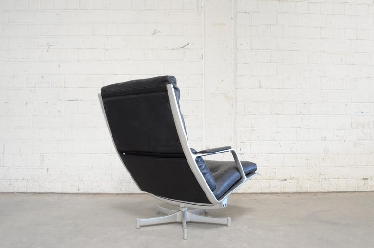 Kill International FK 85 Lounge Chair Cognac Leather Design Kastholm / Fabricius For Sale 1