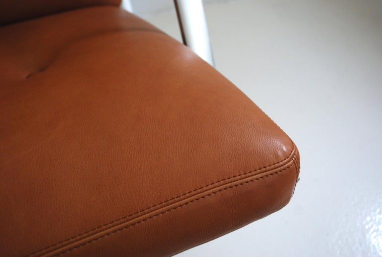 Kill International FK 85 Lounge Chair Cognac Natural by Kastholm & Fabricius For Sale 1