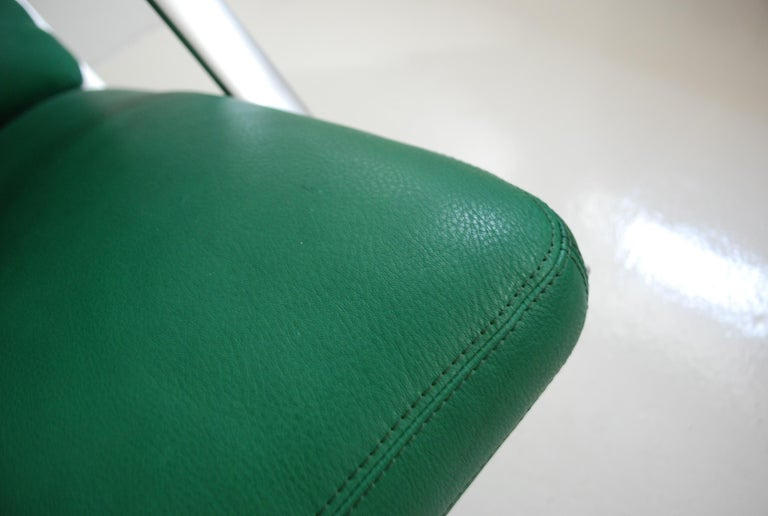 Kill International FK 85 Lounge Chair Green by Kastholm & Fabricius Kelly green For Sale 10