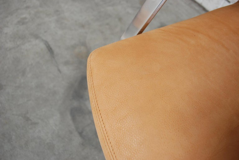 Kill International FK 86 Office Chair Cognac Leather by Kastholm & Fabricius For Sale 10