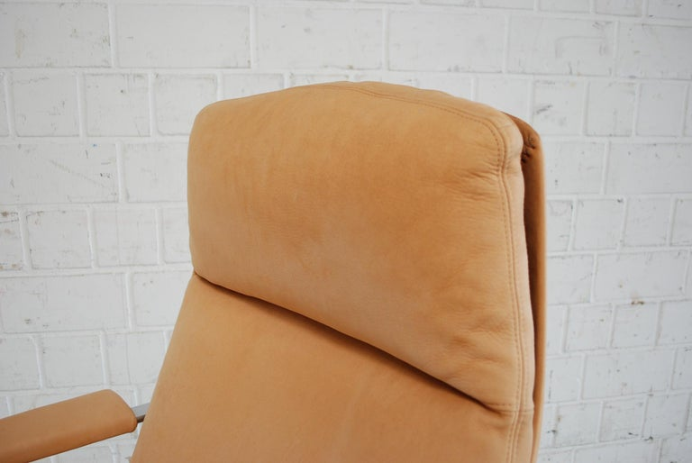 Kill International FK 86 Office Chair Cognac Leather by Kastholm & Fabricius In Good Condition For Sale In Munich, Bavaria