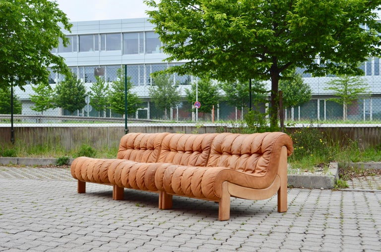 From German manufacture Kill International is this sectional lounge sofa from the 1960s.