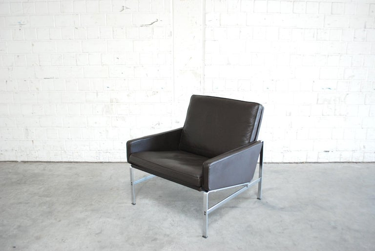 Kill International Model 6720 Lounge Chair Armchair by Kastholm & Fabricius For Sale 3