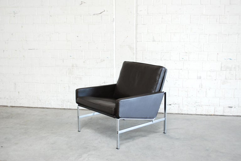 Kill International Model 6720 Lounge Chair Armchair by Kastholm & Fabricius For Sale 11