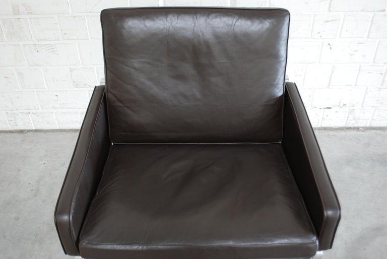 German Kill International Model 6720 Lounge Chair Armchair by Kastholm & Fabricius For Sale
