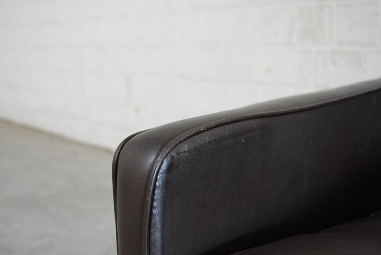 Mid-20th Century Kill International Model 6720 Lounge Chair Armchair by Kastholm & Fabricius For Sale