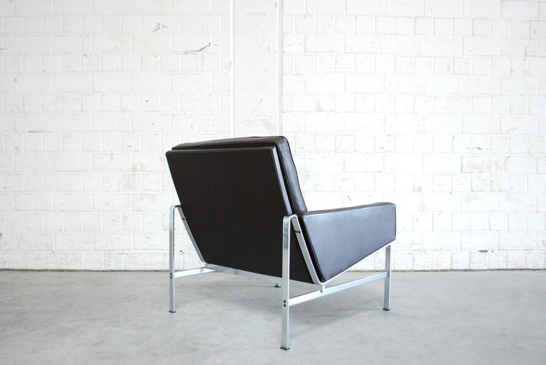 Kill International Model 6720 Lounge Chair Armchair by Kastholm & Fabricius For Sale 1