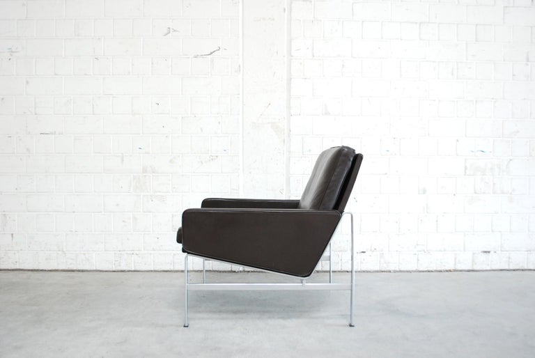 Kill International Model 6720 Lounge Chair Armchair by Kastholm & Fabricius For Sale 2
