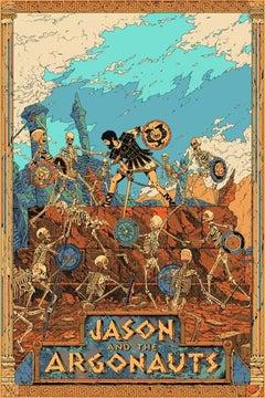 Killian Eng - Jason and the Argonauts - Contemporary Cinema Movie Film Poster