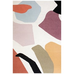Kilombo Home 21st Century Handwoven Flat-Weave Wool Kilim Rug Multiple Colors