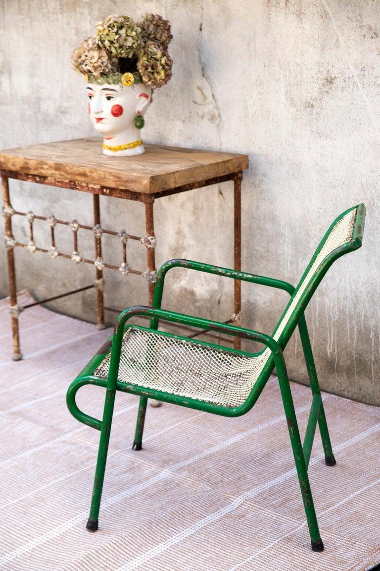 Indian Kilombo Home 21st Century Handwoven Polypropylene Outdoor Rug Bambu Beige For Sale