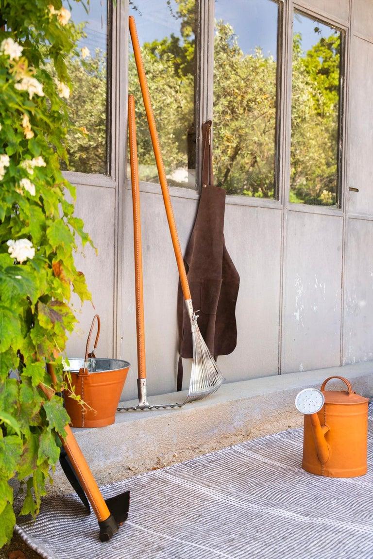 Kilombo Home 21st Century Handwoven Polypropylene Outdoor Rug Bambu Grey For Sale 7