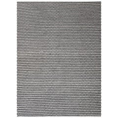Kilombo Home 21st Century Handwoven Wool Rug in Black and White