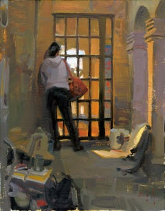 """""""Anybody Home"""", Oil Painting"""