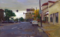 """""""Colfax and York"""", Oil Painting"""