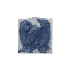 Kim Fonder is Mixed Media on Handmade Paper, ETNOGRAFIC INDACO C