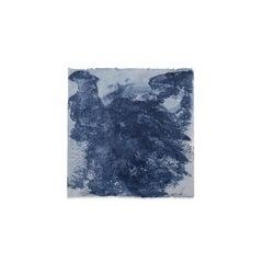 Kim Fonder, Mixed Media on Handmade Paper, ETNOGRAFIC INDACO A