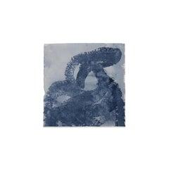 Kim Fonder, Mixed Media on Handmade Paper, ETNOGRAFIC INDACO B