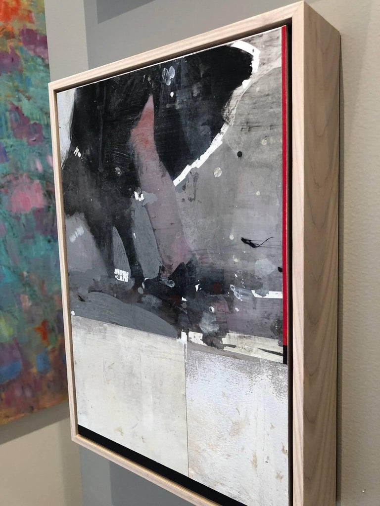 Swing Out Sister! / mixed media: acrylic, assemblage  For Sale 1