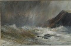 Kim Pragnell, Scottish Symphony, Original seascape and landscape painting