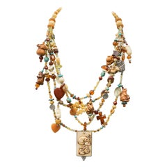Kim Yubeta Rabbit Necklace