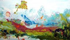 Liquid Landscape 628-060708, Mixed Media, Waterscape