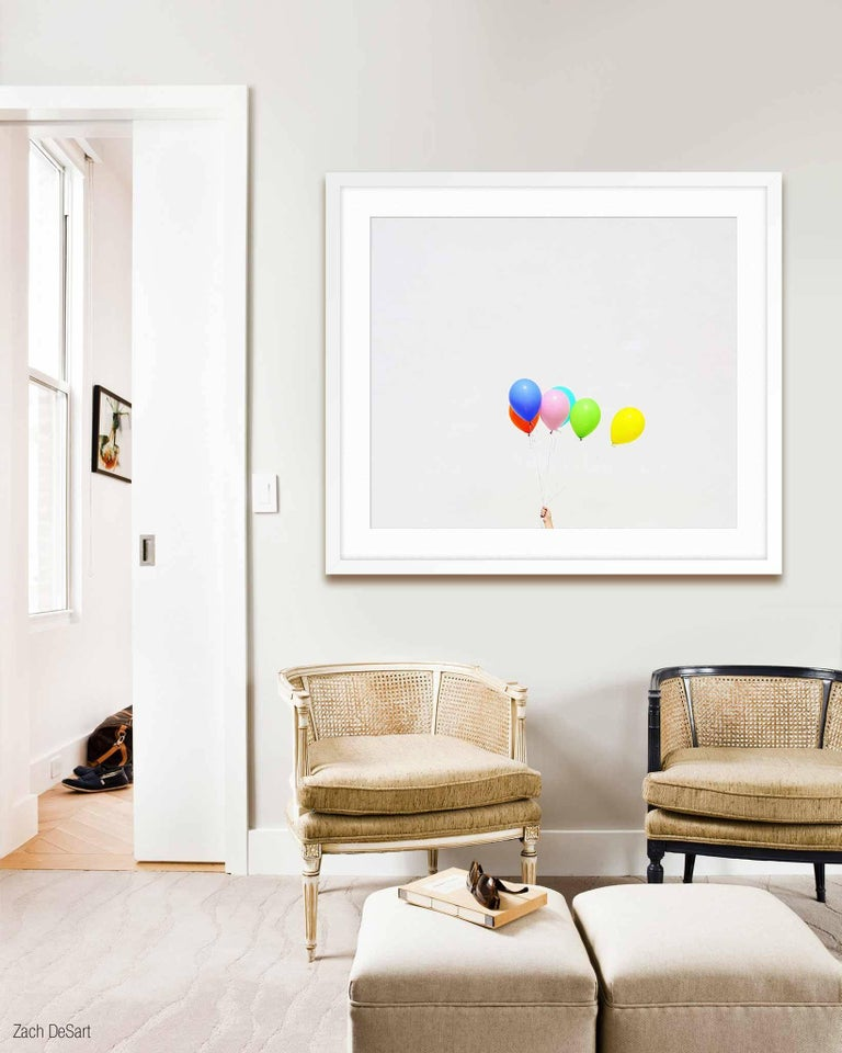 ABOUT THIS PIECE: Untitled (Balloons) is from Kimberly's