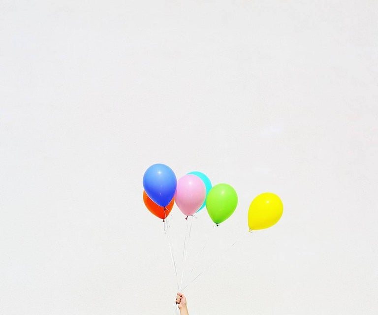 Kimberly Genevieve Still-Life Print - Untitled (Balloons)