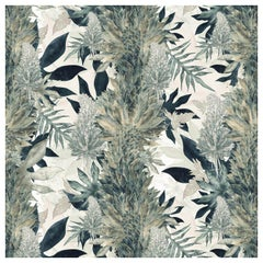 Kimolia Paradise Green Wallpaper by 17 Patterns