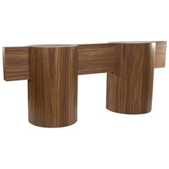 Kimono Table Has the Grace and Strength of the Torii before a Shinto Temple