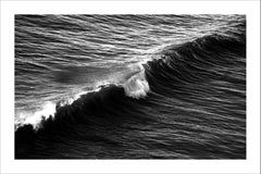 Long Wave in Venice Beach, Black and White Giclée Print on Matte Cotton Paper