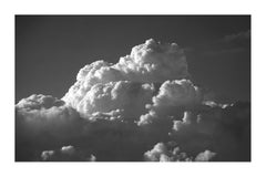 Zen Clouds Landscape in Black and White, Limited Edition Giclée Print, Sky Scape