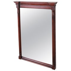 Kindel Furniture Carved Mahogany Framed Wall Mirror