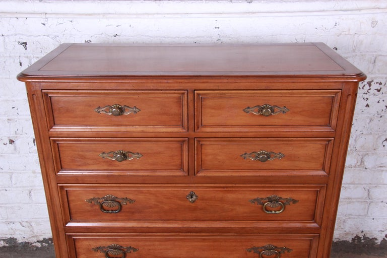 Kindel Furniture French Provincial Highboy Dresser For