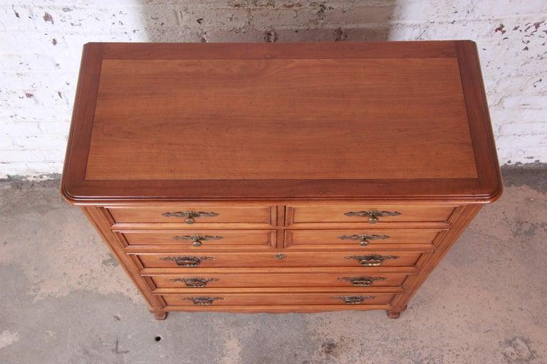 20th Century Kindel Furniture French Provincial Highboy Dresser
