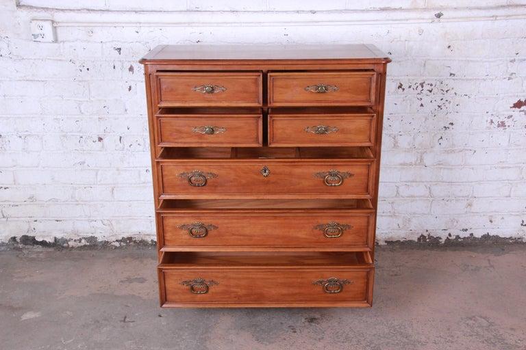 Kindel Furniture French Provincial Highboy Dresser 1