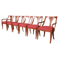 Kindel Furniture Regency Cherry Wood Dining Chairs, Set of Six
