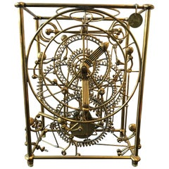Kinetic Sculpture Motion Clock by Gordon Bradt for Kinetco